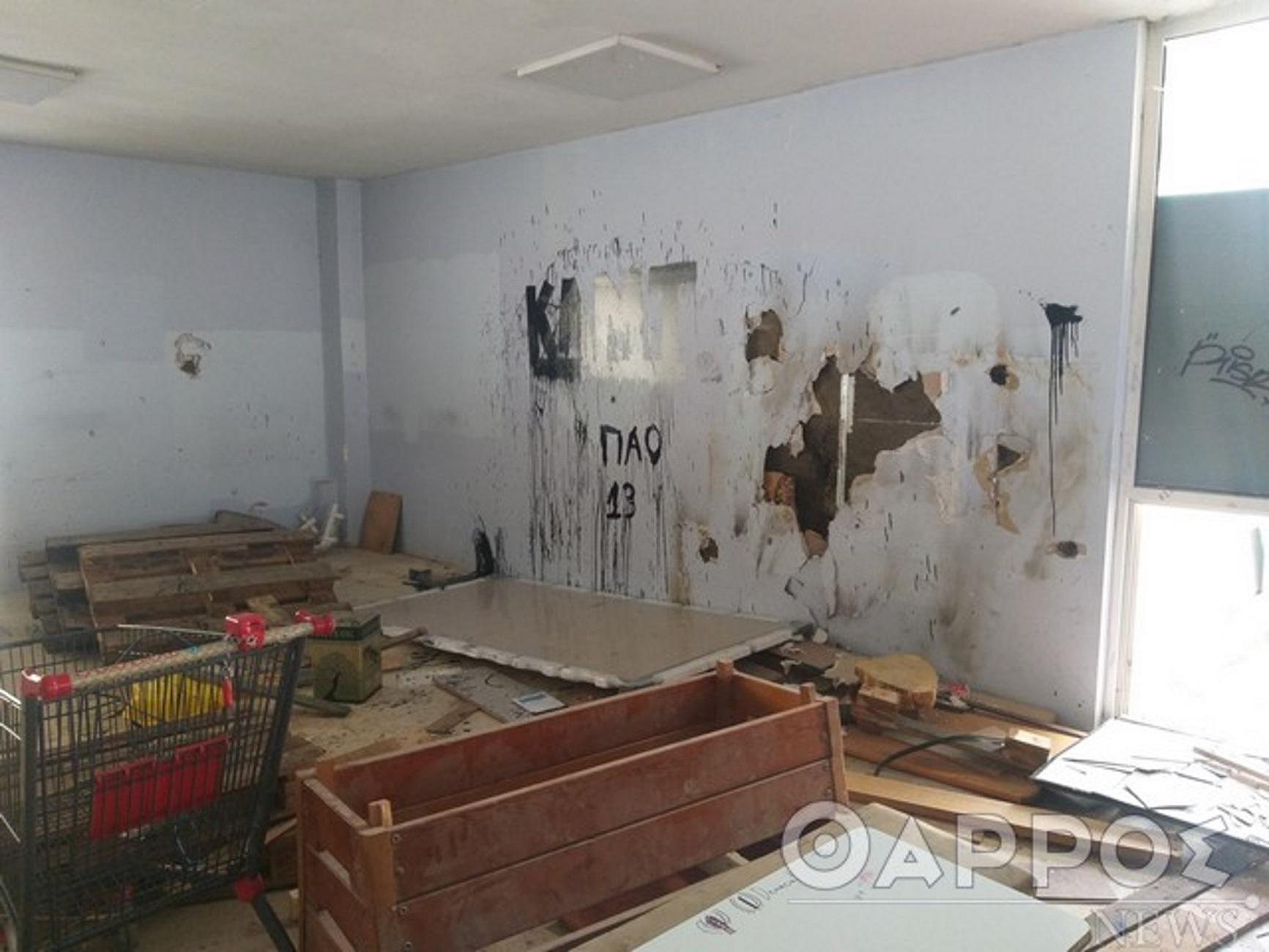 Καλαμάτα: Μπήκαν σε υπό κατάληψη σχολείο και είδαν αυτές τις εικόνες! Ξεσπάει η διευθύντρια (Φωτό)