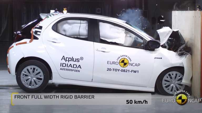 Πόσο ασφαλές είναι το νέο Toyota Yaris για τους επιβάτες του; [vid]
