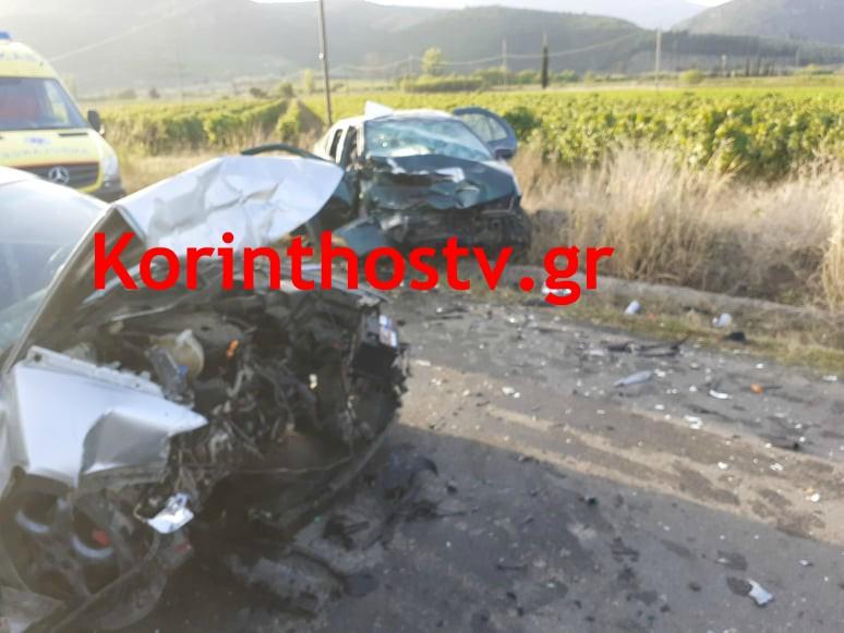Τραγωδία στη Νεμέα – Ένας νεκρός και οκτώ τραυματίες σε τροχαίο....