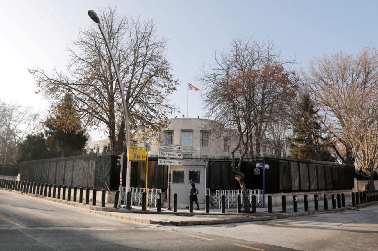 """""""Περίεργη"""" ανάρτηση από την αμερικανική πρεσβεία στην Τουρκία για τα θαλάσσια σύνορα Ελλάδας – Κύπρου"""