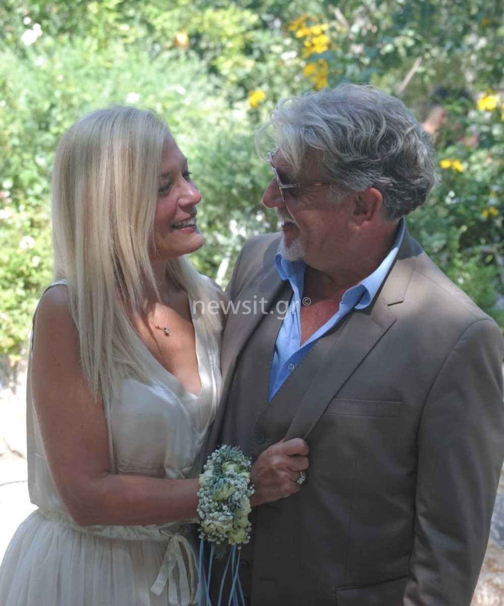 Ο Γιάννης Βούρος ξαναπαντρεύτηκε την πρώην σύζυγό του[photos]