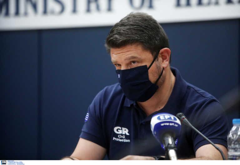Χαρδαλιάς: 5.973 τα ενεργά κρούσματα στην Ελλάδα