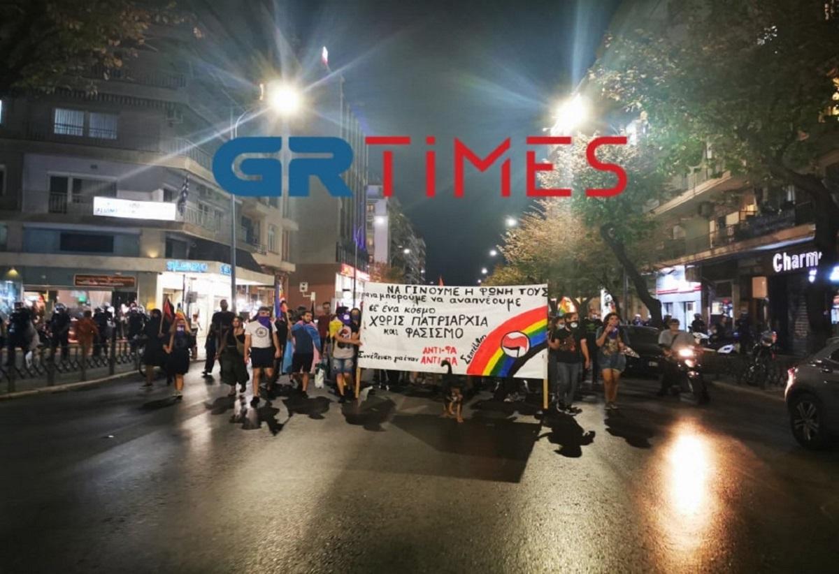 Πορεία στη μνήμη του Ζακ Κωστόπουλου στη Θεσσαλονίκη (video)