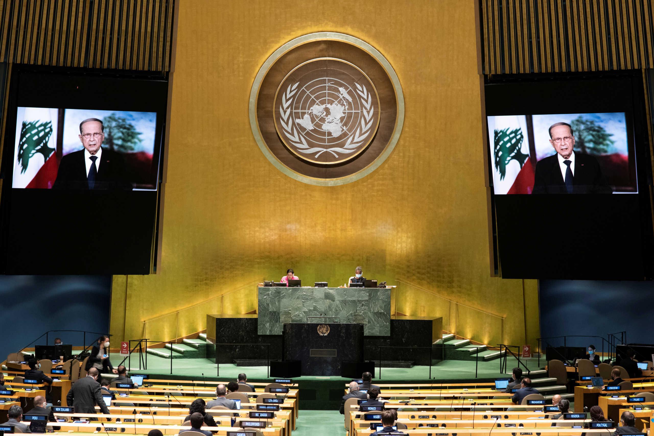 """Οι """"εχθροί"""" Λίβανος και Ισραήλ οριοθετούν τα σύνορά τους σε στεριά και θάλασσα"""