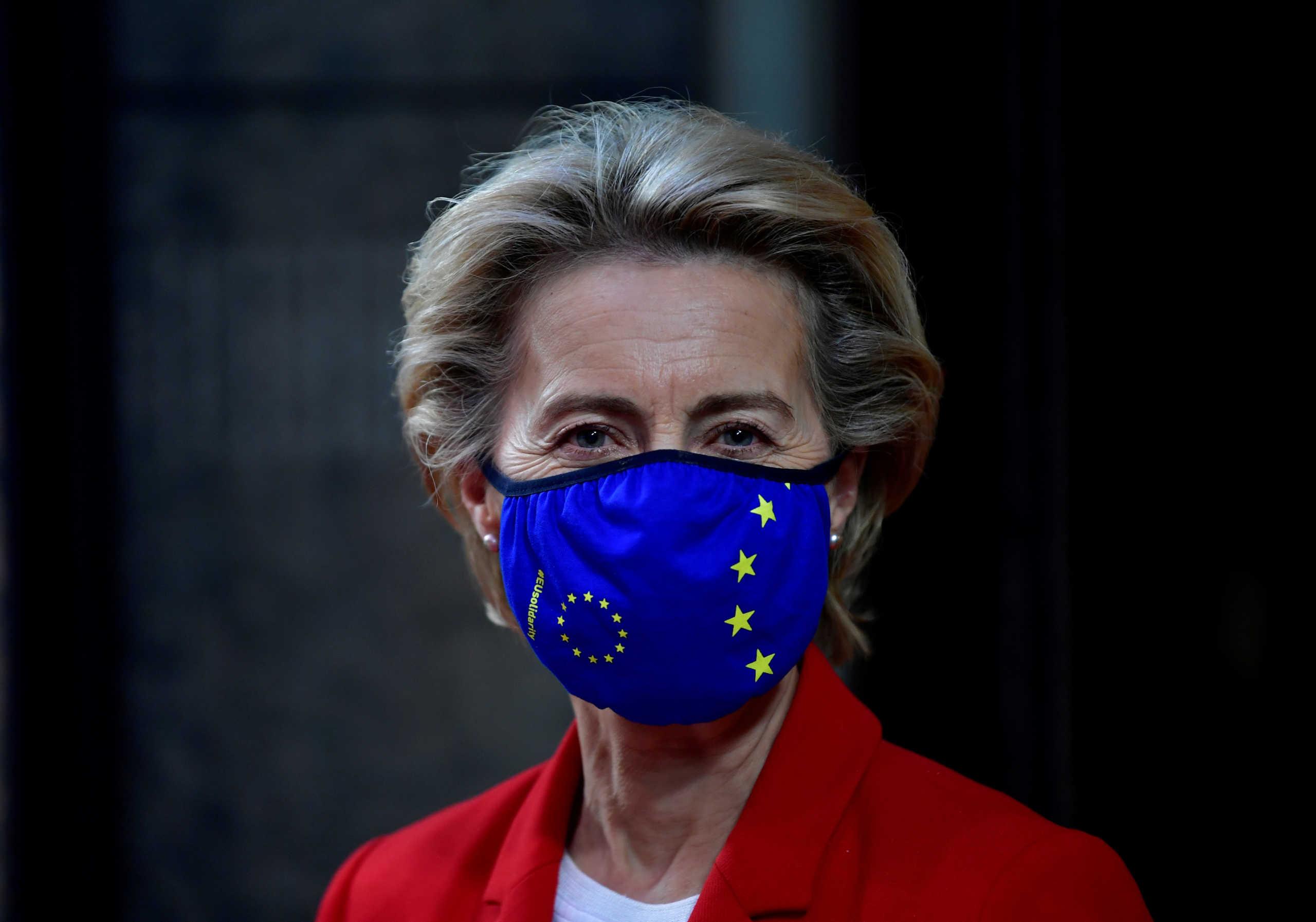 Ούρσουλα Φον Ντερ Λάιεν: Από την Τρίτη η Ελλάδα θα έχει πρόσβαση σε 2 δισ. ευρώ από τον μηχανισμό SURE