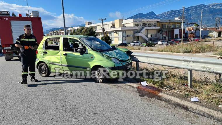 Φθιώτιδα: Εφιάλτης στο τιμόνι για γυναίκα! Η σύγκρουση, οι τούμπες και η τύχη βουνό (Φωτό)