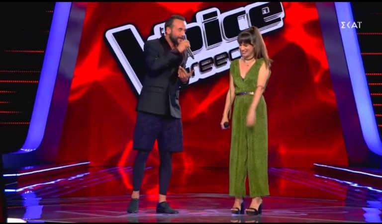 The Voice: Η 17χρονη που έφερε τα πάνω κάτω στο πλατό του show