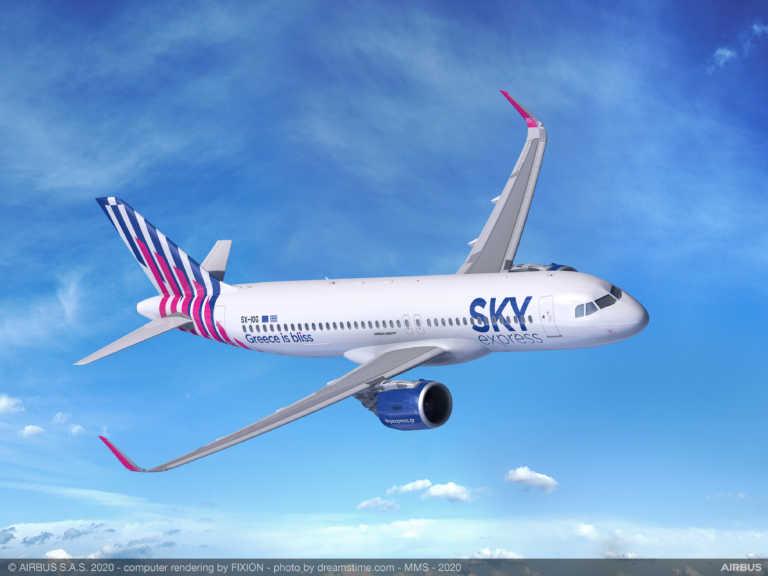 Ακυρώνονται και τροποποιούνται πτήσεις της Sky Express – Όλες οι αλλαγές