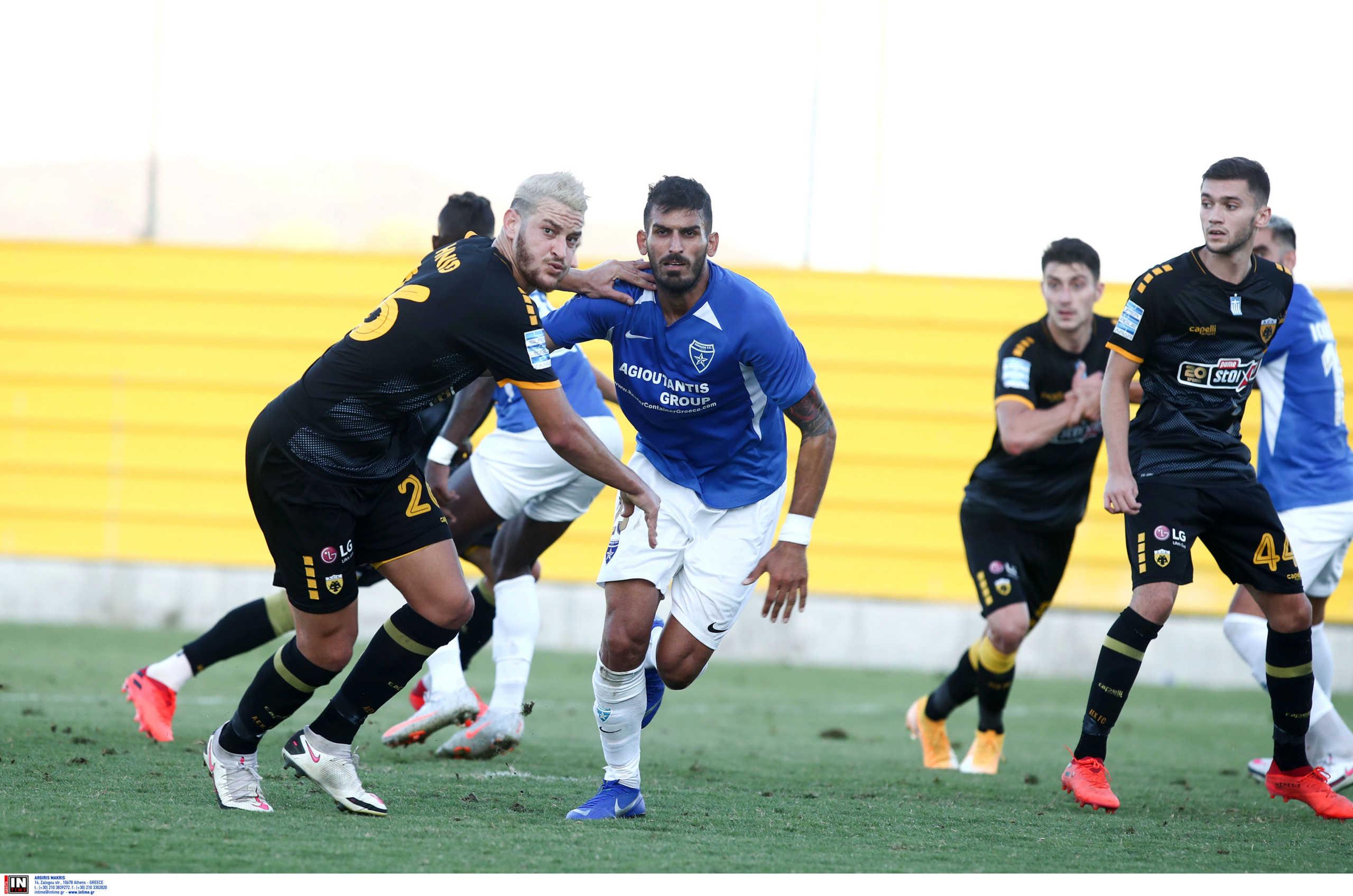 """ΑΕΚ: """"Ντεμπούτο"""" για Νεντελτσιάρου και γκολ από Χνιντ στο φιλικό με Ιωνικό (pics)"""