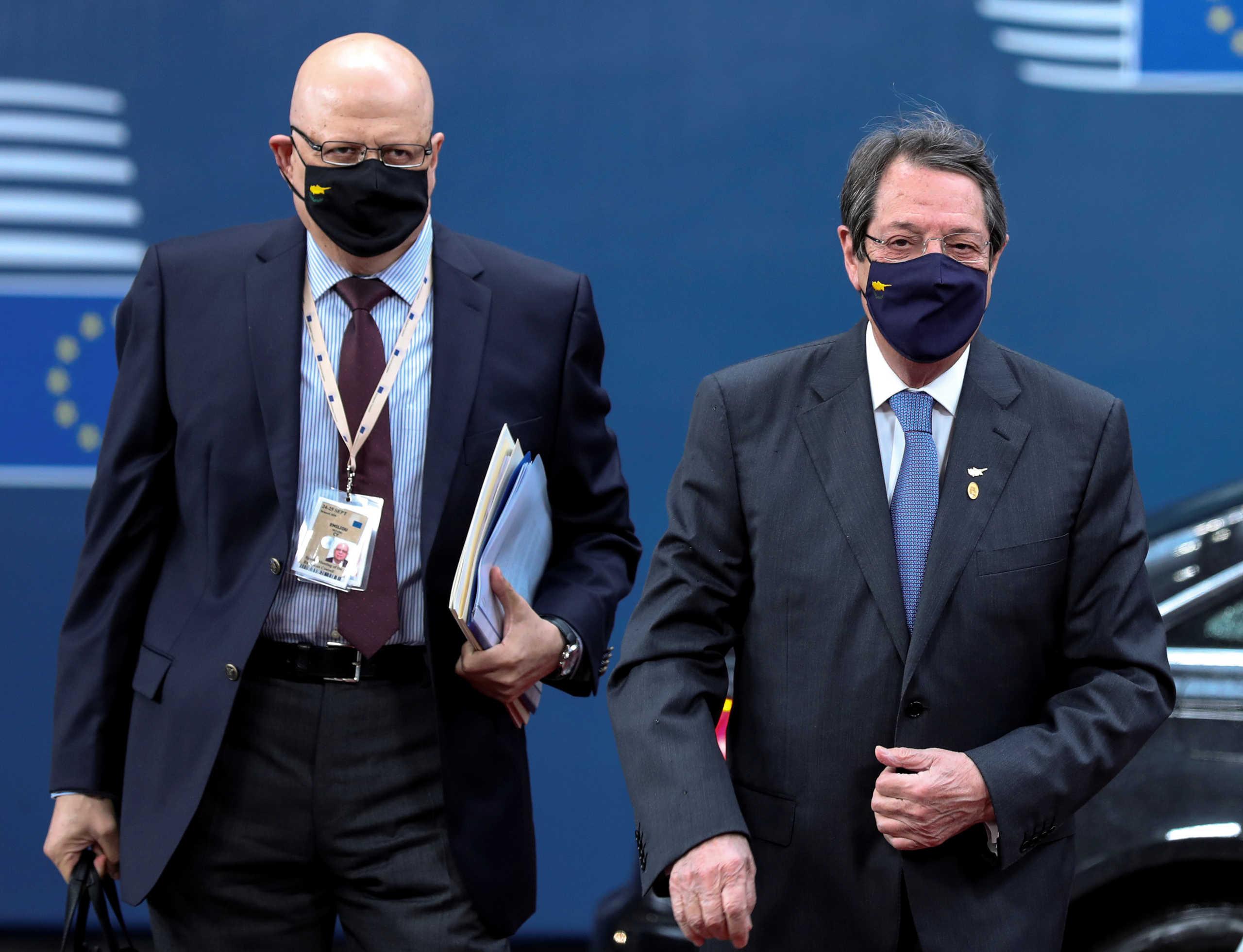 Αναστασιάδης - Ευρωπαϊκή Ένωση
