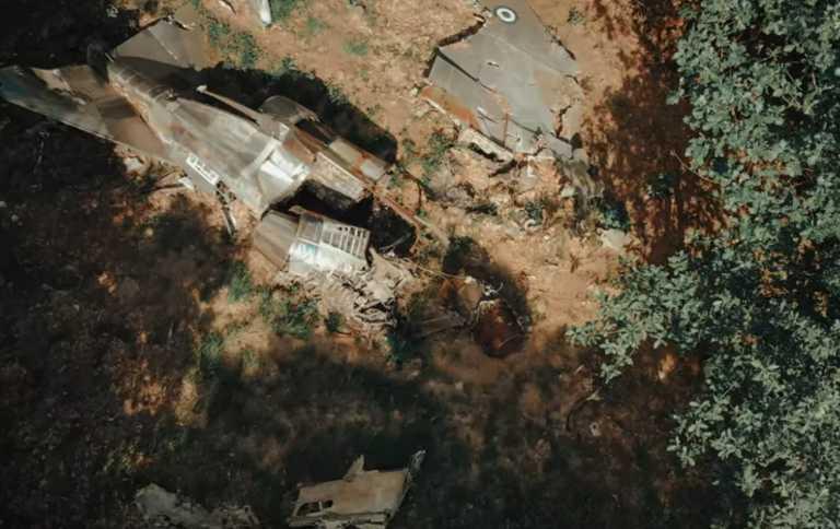 Τρίκαλα: Το αεροπορικό ατύχημα που η φύση μετέτρεψε σε κορυφαίο αξιοθέατο (Βίντεο)