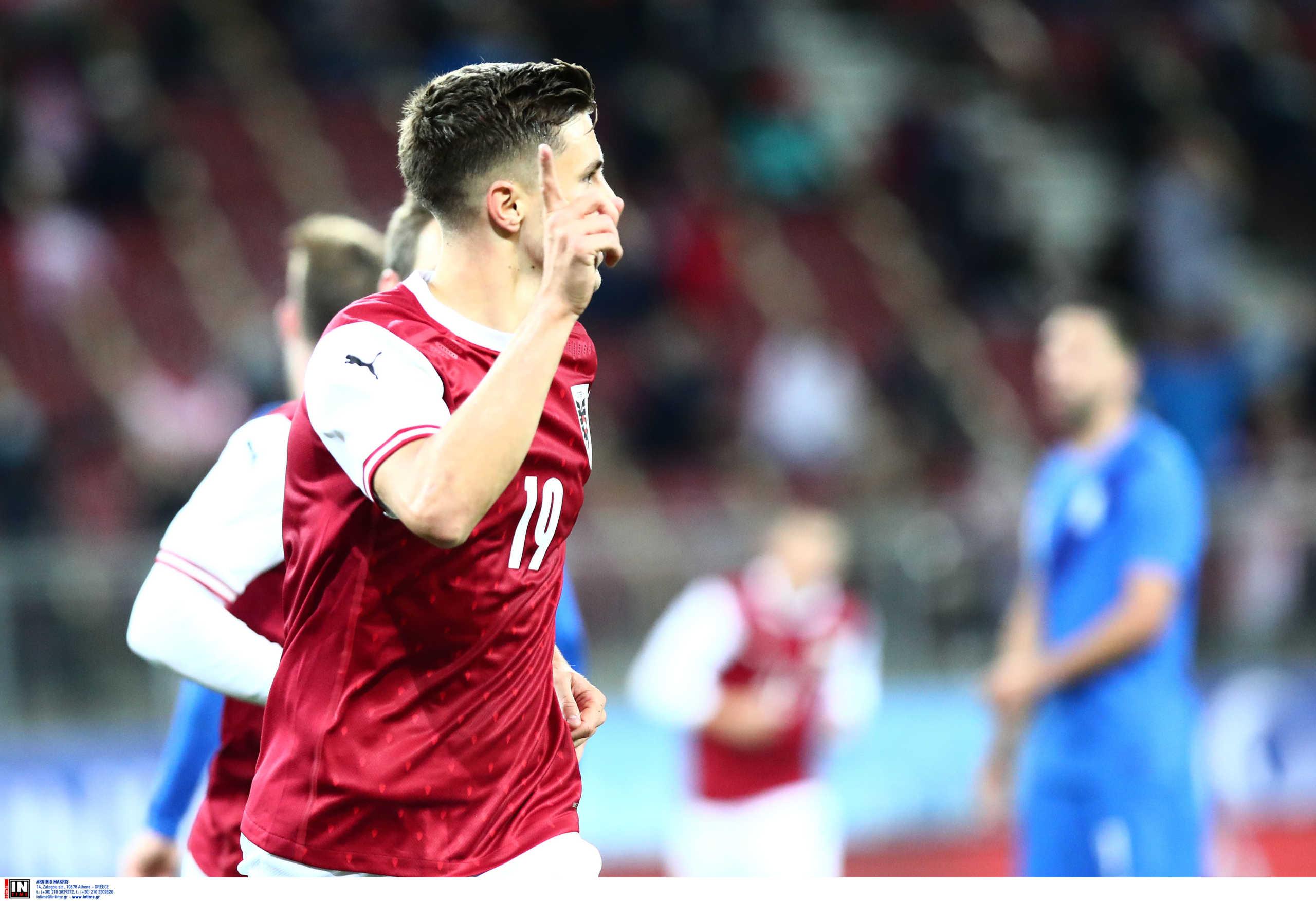 Αυστρία – Ελλάδα 2-1 ΤΕΛΙΚΟ: Ήττα με ανατροπή για την Εθνική