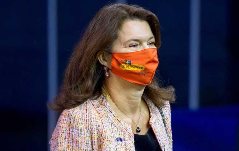 Αν Λίντε: Σε καραντίνα η Σουηδέζα ΥΠΕΞ μετά τη μόλυνση των συναδέλφων της, Βελγίου και Αυστρίας