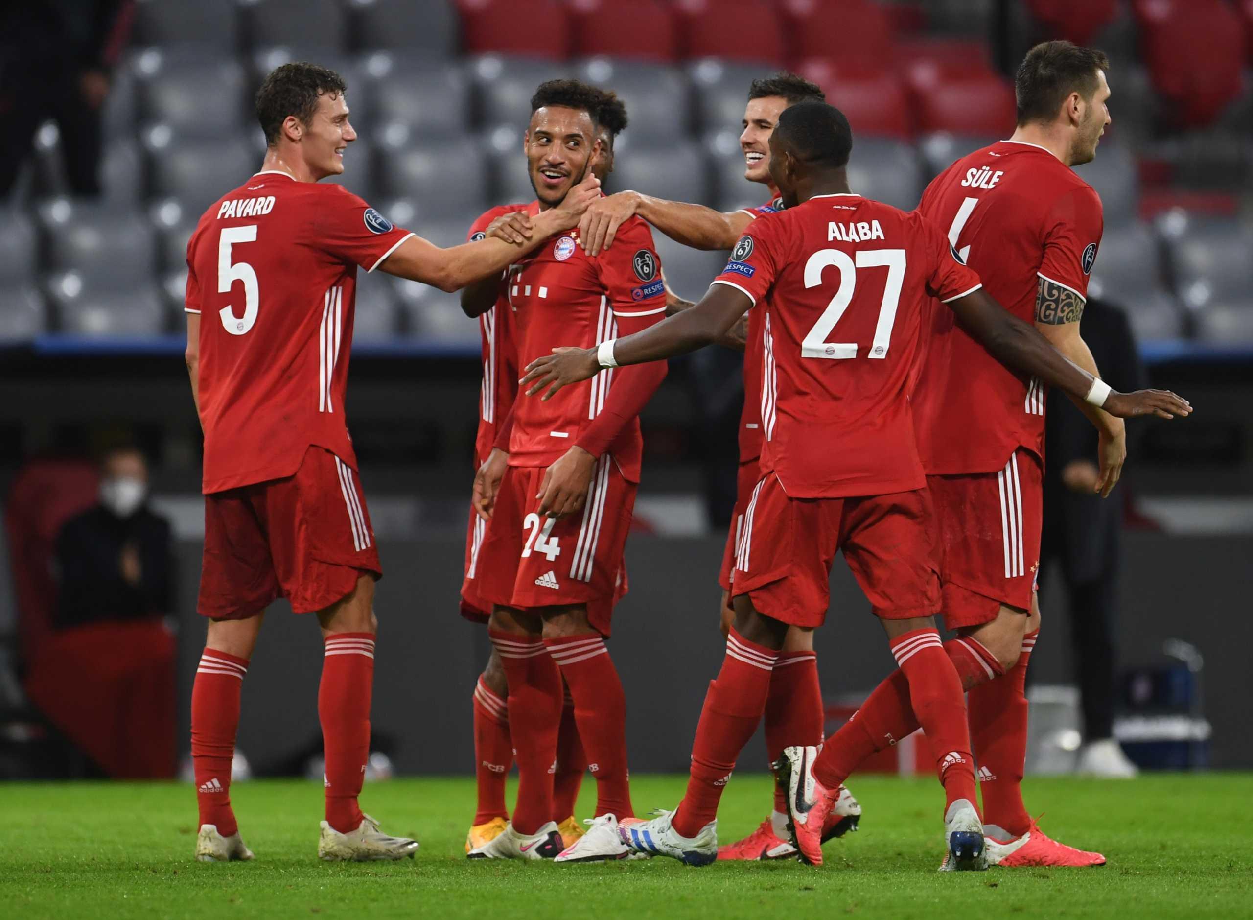 Champions League Μπάγερν Ατλέτικο