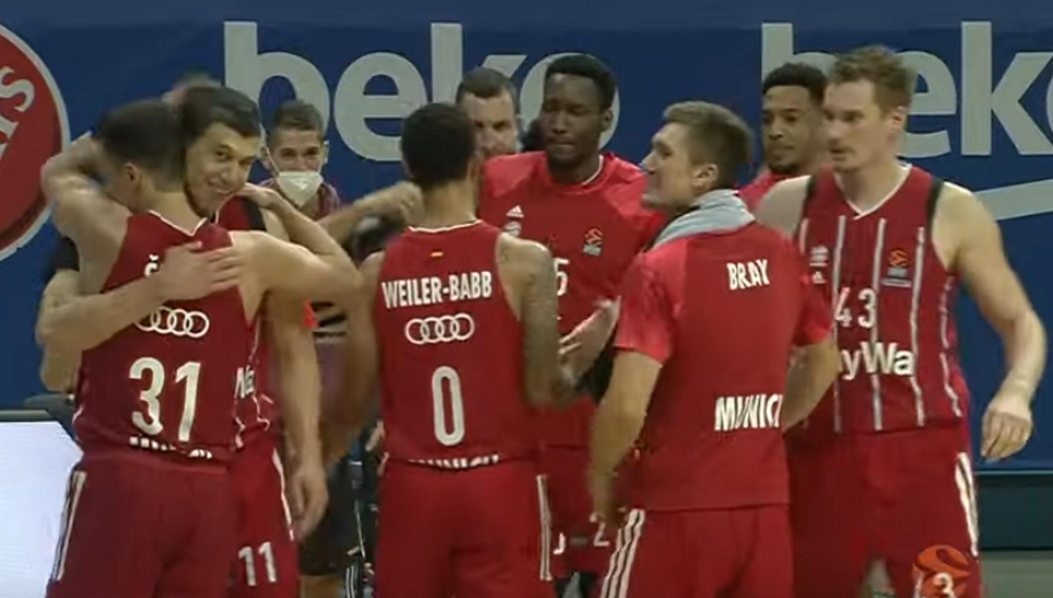 Euroleague: Μείωσε σε 2-1 και έμεινε «ζωντανή» για το Final-4 η Μπάγερν