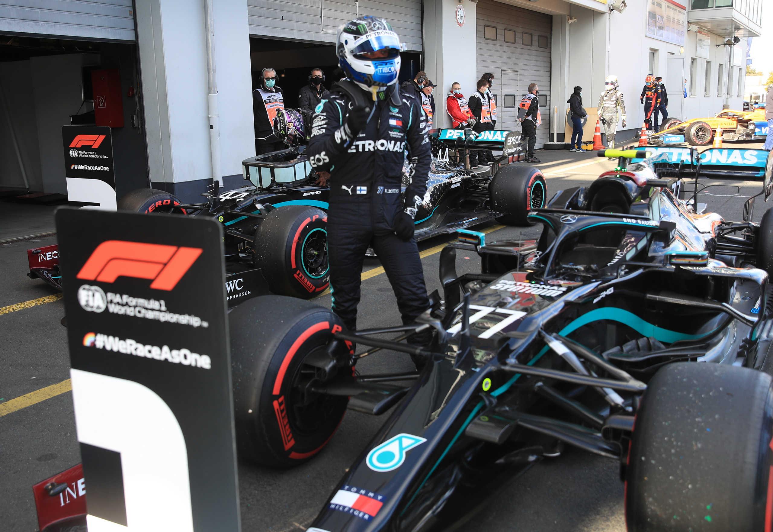 Formula 1: Ο Μπότας την pole position στο Νίρμπουργκρινγκ (video)
