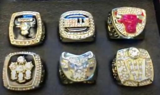 Πωλήθηκαν για 255.840 δολάρια έξι δαχτυλίδια από τα πρωταθλήματα ΝΒΑ των Σικάγο Μπουλς