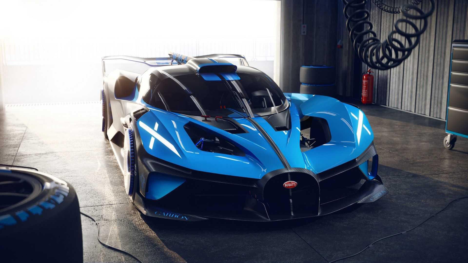 Bugatti Bolide: Απίστευτα γρήγορο υπεραυτοκίνητο πίστας [vid]