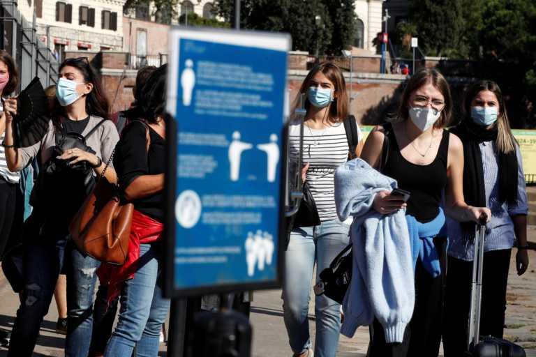 Ιταλία: Νέο αρνητικό ρεκόρ με 16.079 κρούσματα κορονοϊού – Άλλοι 136 θάνατοι