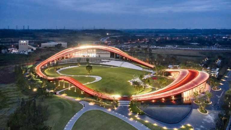 «Καμπύλη της Σοφίας» στην Τσενγκντού της Κίνας