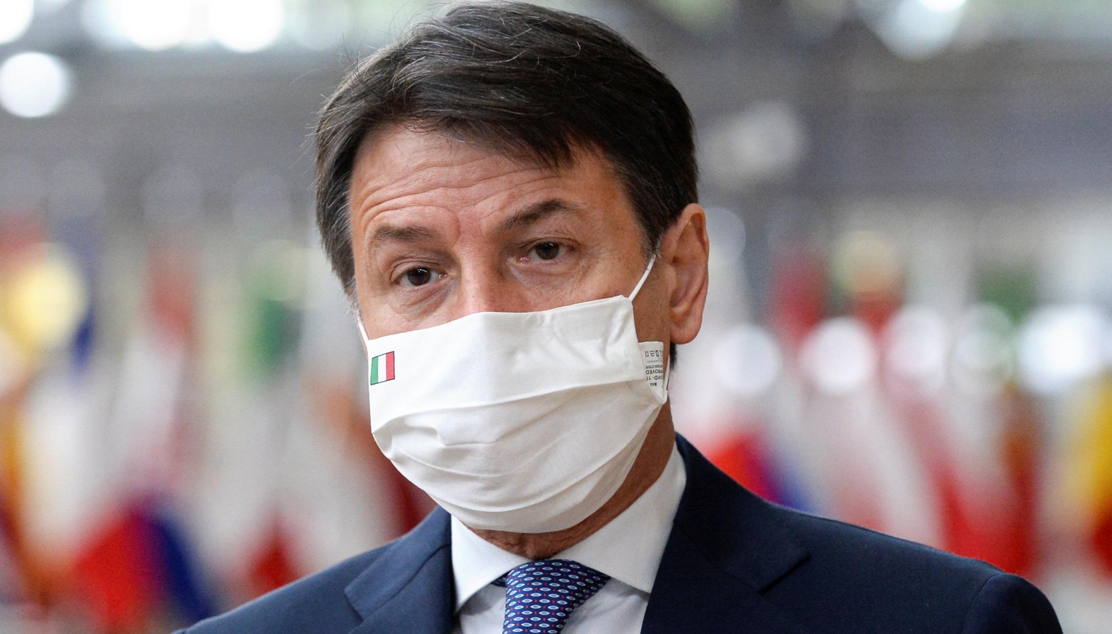 πρωθυπουργός της Ιταλίας Τζιουζέπε Κόντε