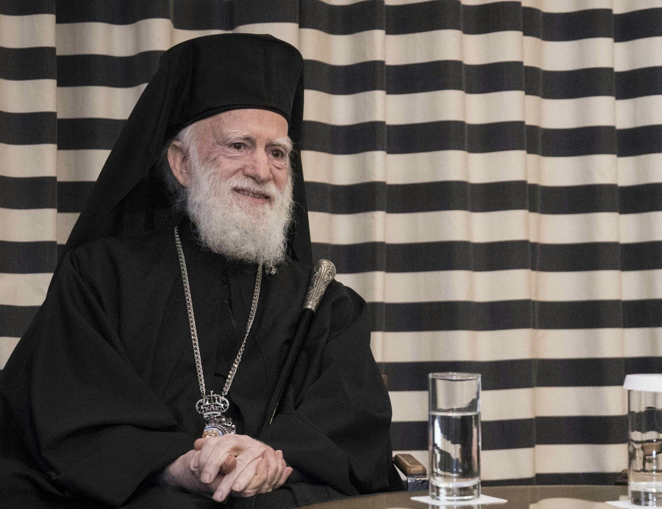 Ηράκλειο: Κερδίζει τη μεγάλη μάχη για τη ζωή του ο Αρχιεπίσκοπος Κρήτης Ειρηναίος!