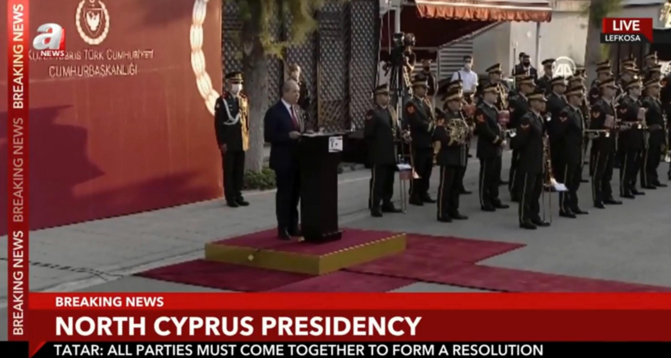 Προκλητικός Ερσίν Τατάρ: Δύο κράτη η λύση για την Κύπρο (video)
