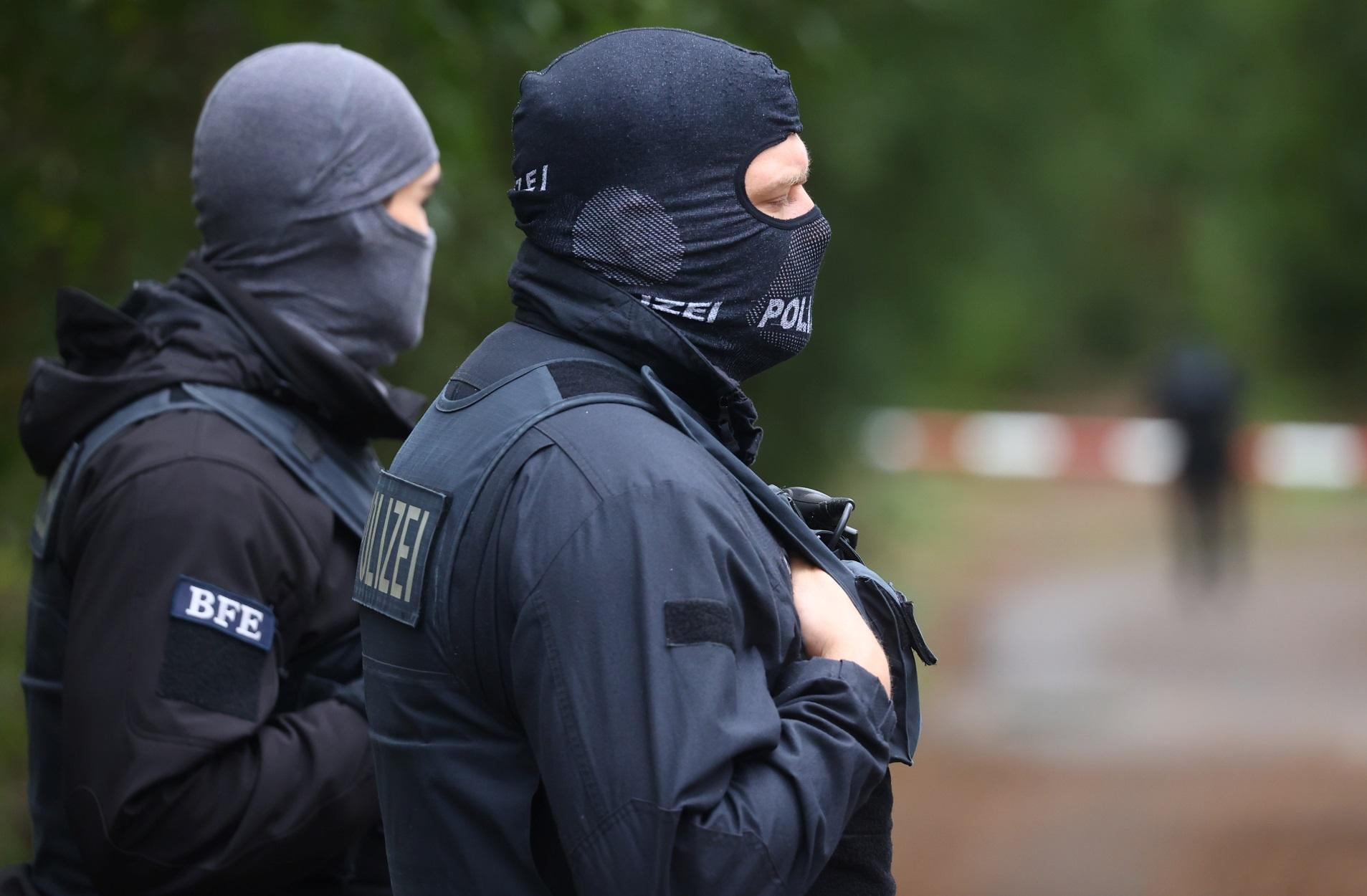 αστυνομικοί στη Γερμανία