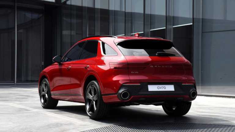 Genesis GV70: Νέο πολυτελές SUV από τη θυγατρική της Hyundai