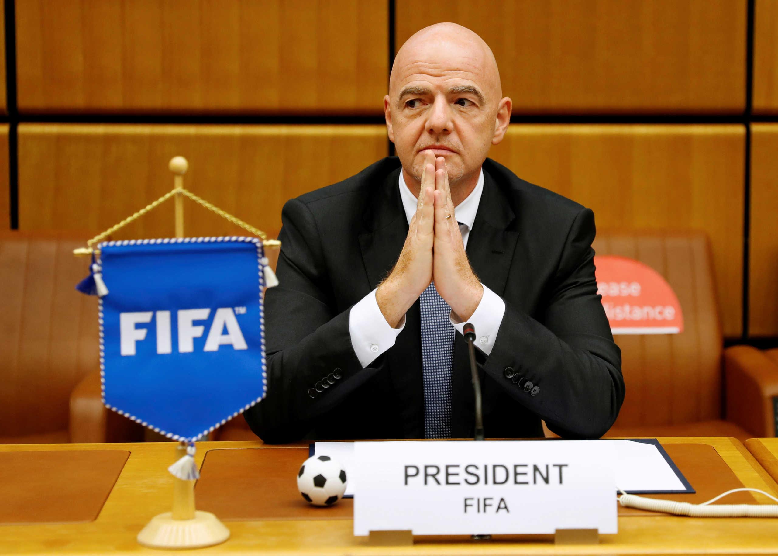 Ινφαντίνο: Θετικός στον κορονοϊό ο πρόεδρος της FIFA