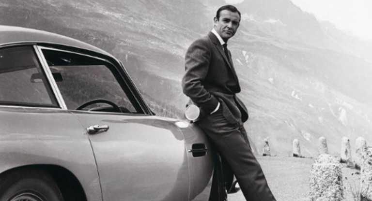 """Σον Κόνερι: Η Aston Martin αποχαιρετά τον """"δικό"""" της Τζέιμς Μποντ (video)"""