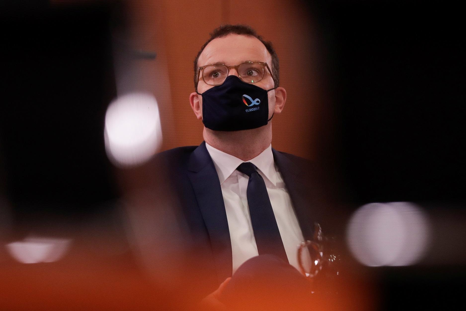 Γερμανός υπουργός Υγείας Γενς Σπαν