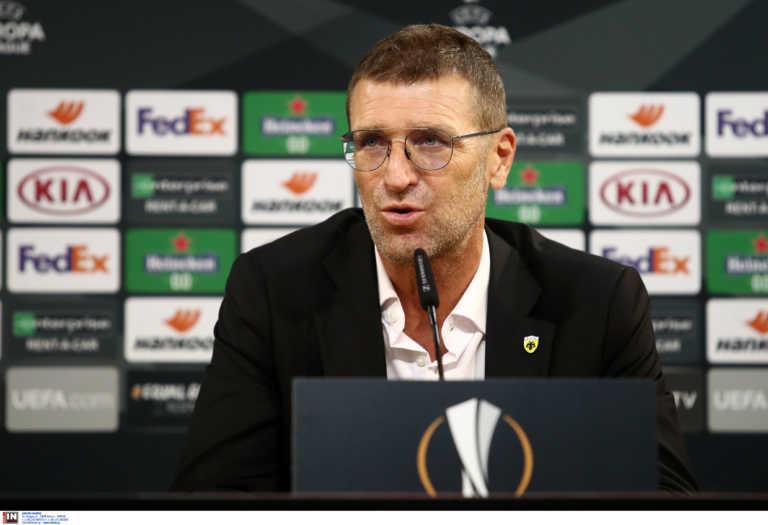 """ΑΕΚ – Καρέρα: """"Πάμε για νίκη με Μπράγκα, στόχος η πρόκριση"""""""