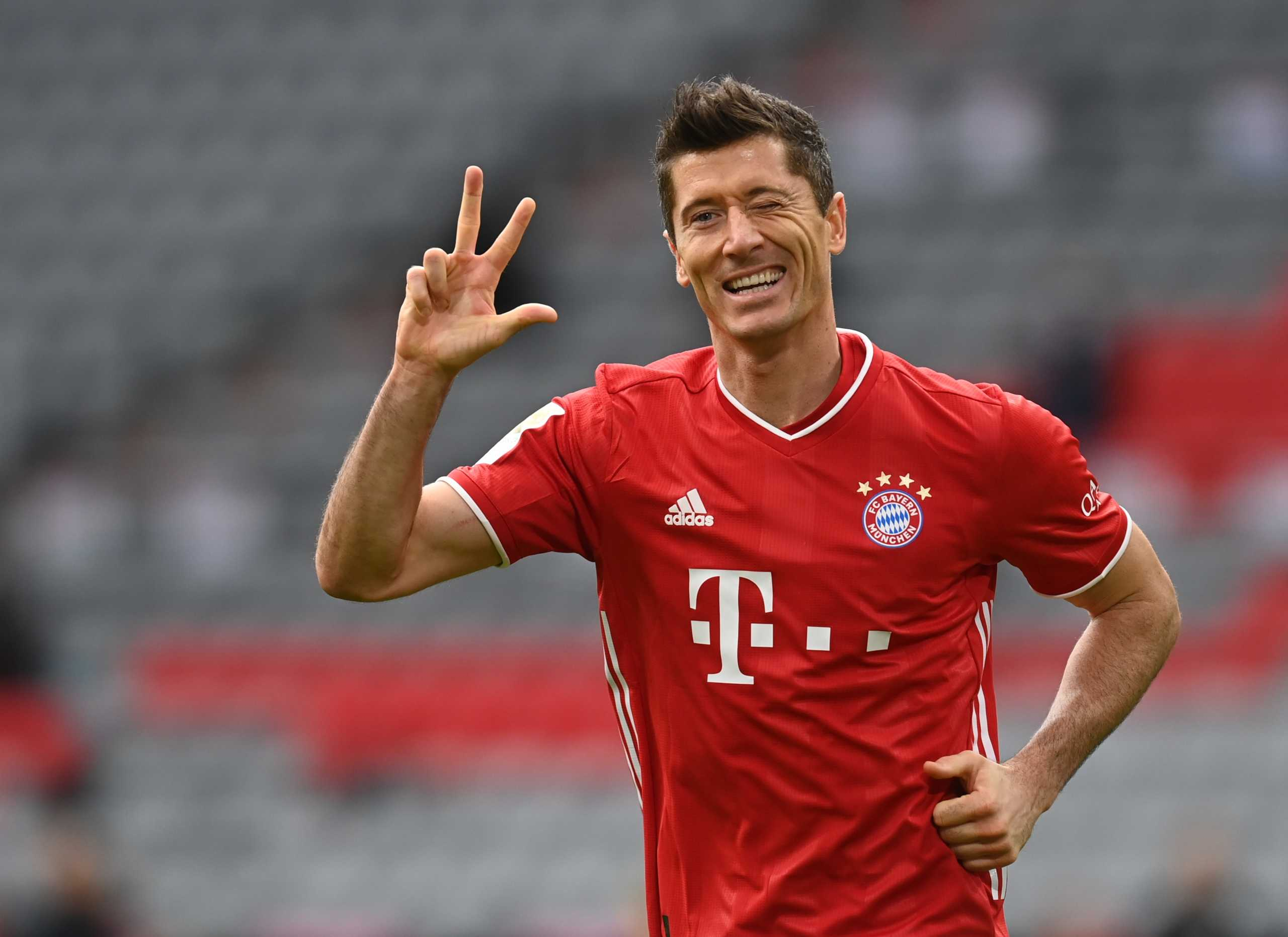 Bundesliga: Κορυφαίος παίκτης της σεζόν ο Λεβαντόφσκι