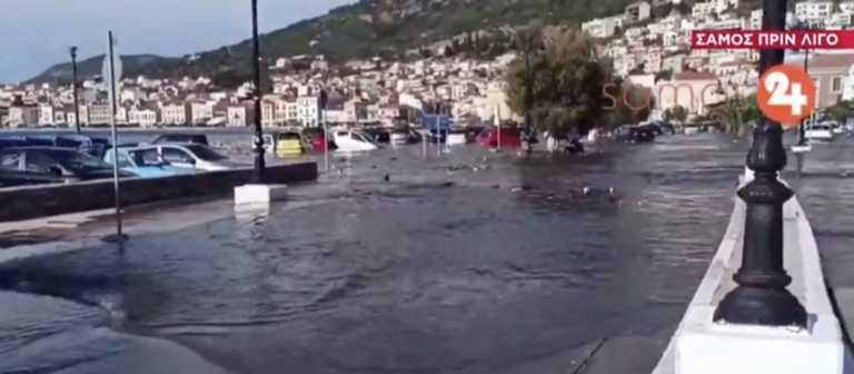 Σεισμός 6,7 ρίχτερ στην Σάμο – Ζημιές σε σπίτια και δρόμους – Τρίτο τσουνάμι χτύπησε το νησί