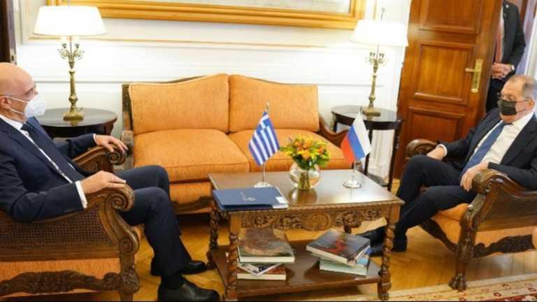 Πως αποτιμά η Αθήνα την επίσκεψη του Ρώσου ΥΠΕΞ Σεργκέι Λαβρόφ