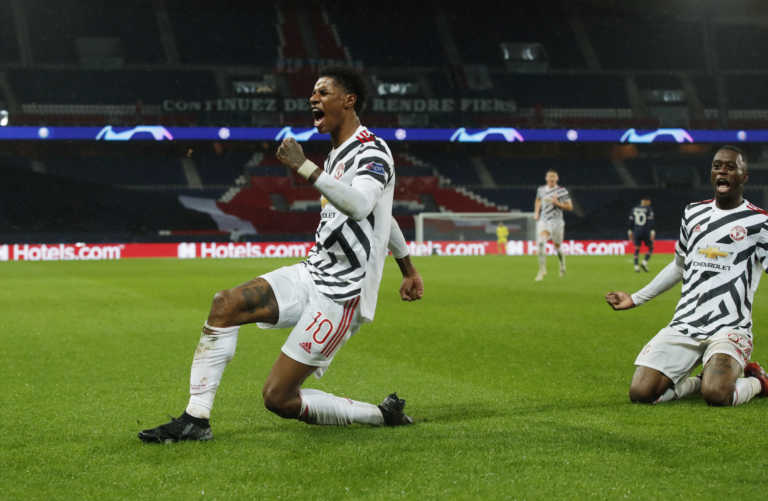 "Champions League: Το ""εξοχικό"" της Μάντσεστερ Γιουνάιτεντ – Ο Ράσφορντ ""εκτέλεσε"" την Παρί (video)"