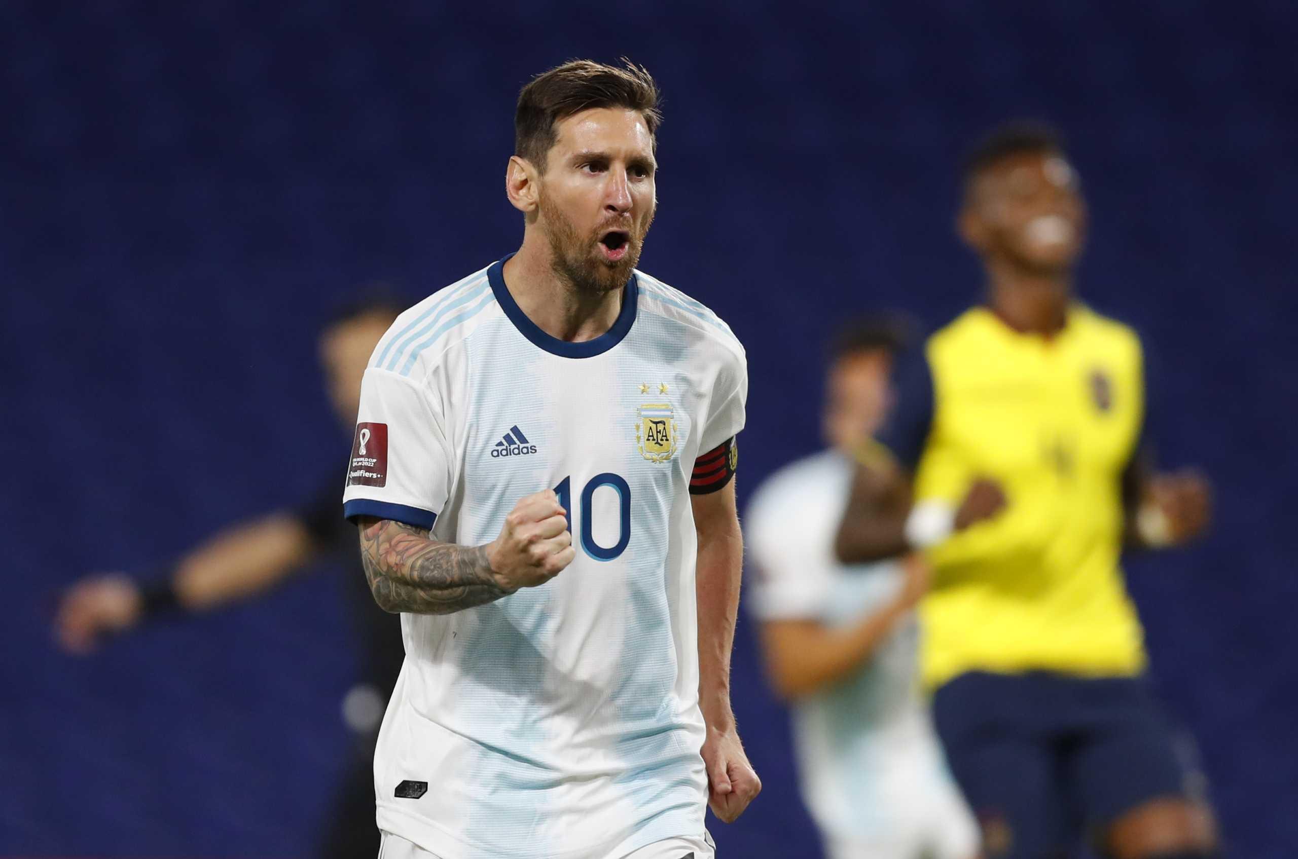 Πρεμιέρα με νίκη, ζόρια και Μέσι για την Αργεντινή στα προκριματικά του Μουντιάλ 2022 (video)