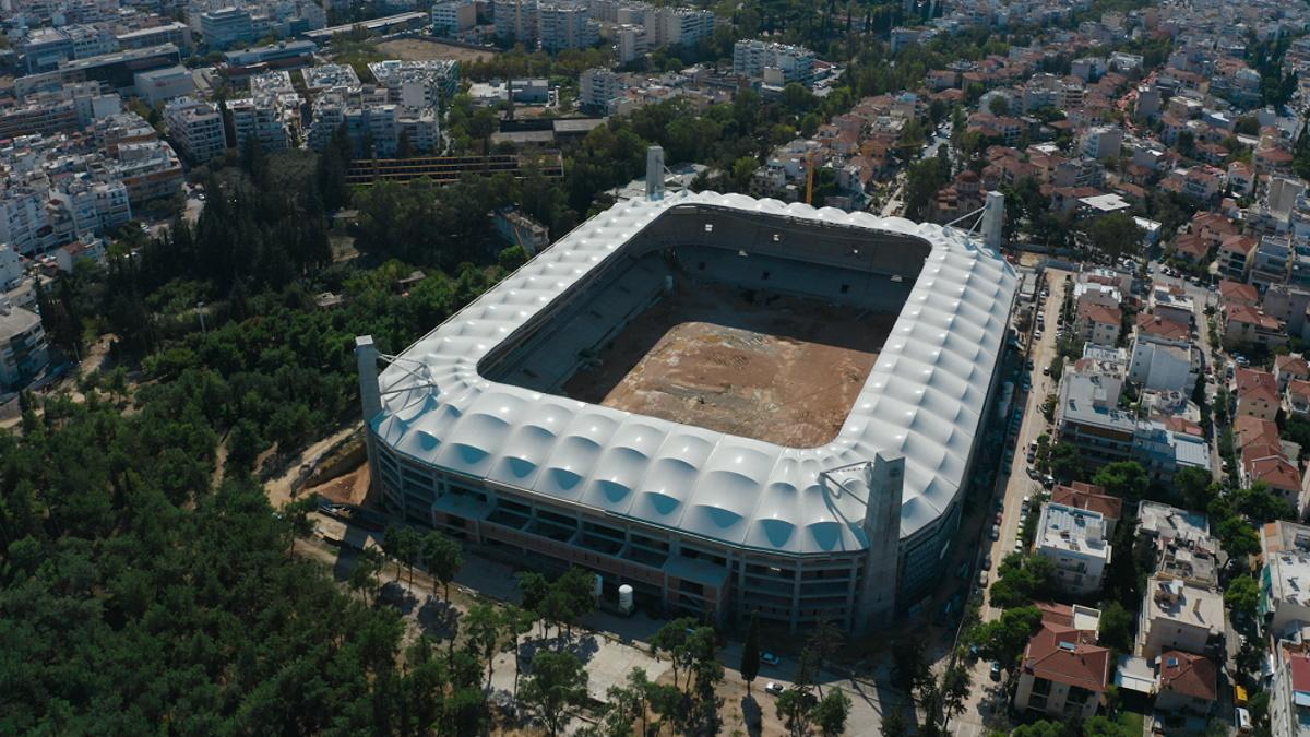 OPAP ARENA από ψηλά – Αποκλειστικά πλάνα από το νέο γήπεδο της ΑΕΚ