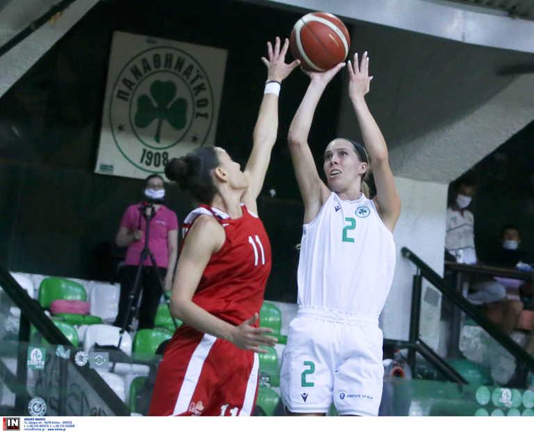 """Παναθηναϊκός – Ολυμπιακός: Ιστορική """"πράσινη"""" νίκη στο ντέρμπι των γυναικών!"""