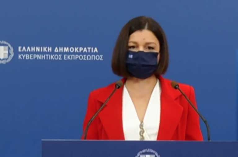 Live: Η ενημέρωση των πολιτικών συντακτών από την Αριστοτελία Πελώνη