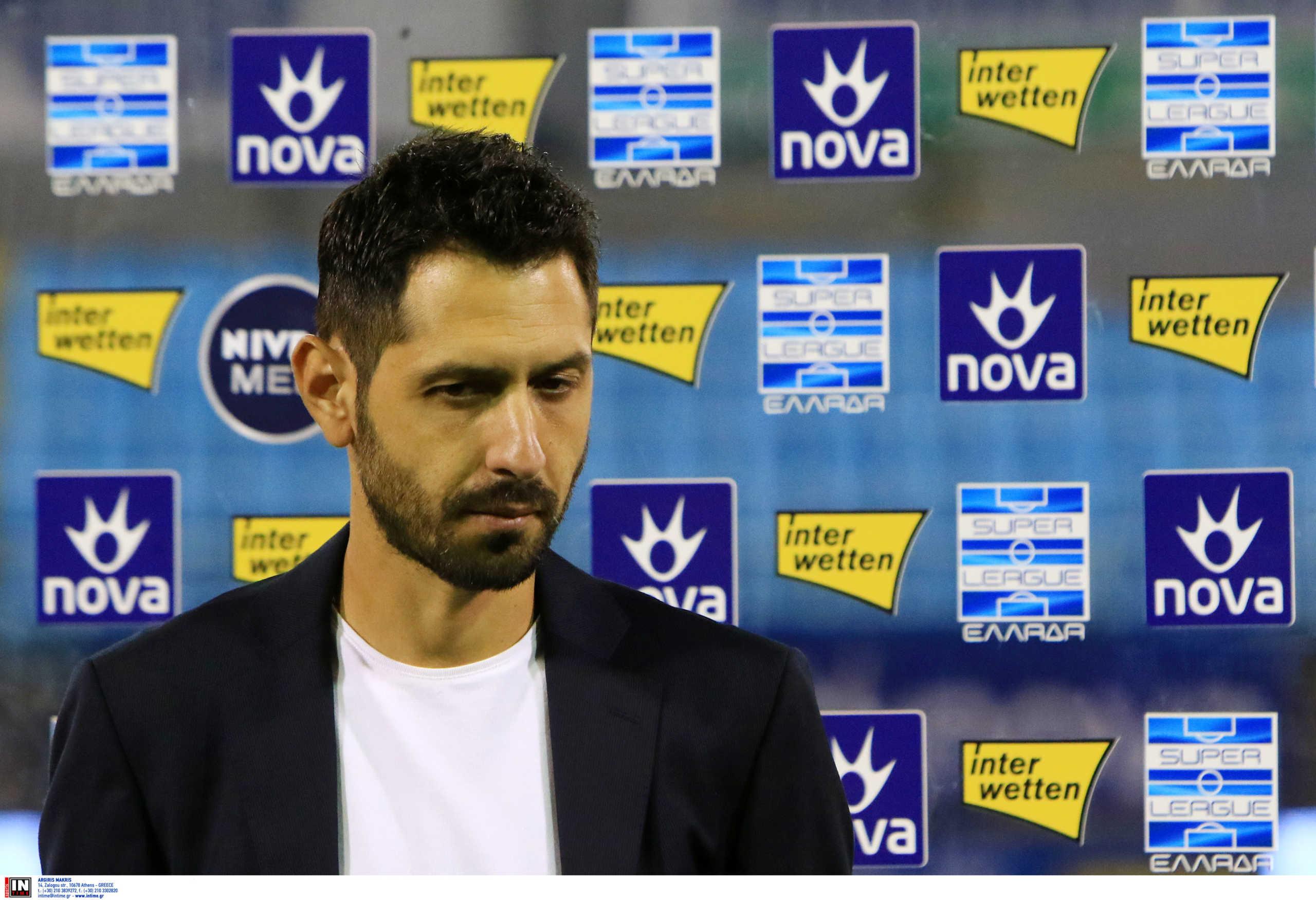 Λαμία: Τέλος ο Πετράκης – Αποχαιρέτησε τους παίκτες