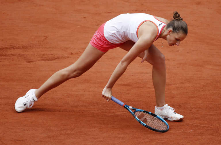 """""""Βόμβα"""" στο Roland Garros! Αποκλείστηκε η Πλίσκοβα"""