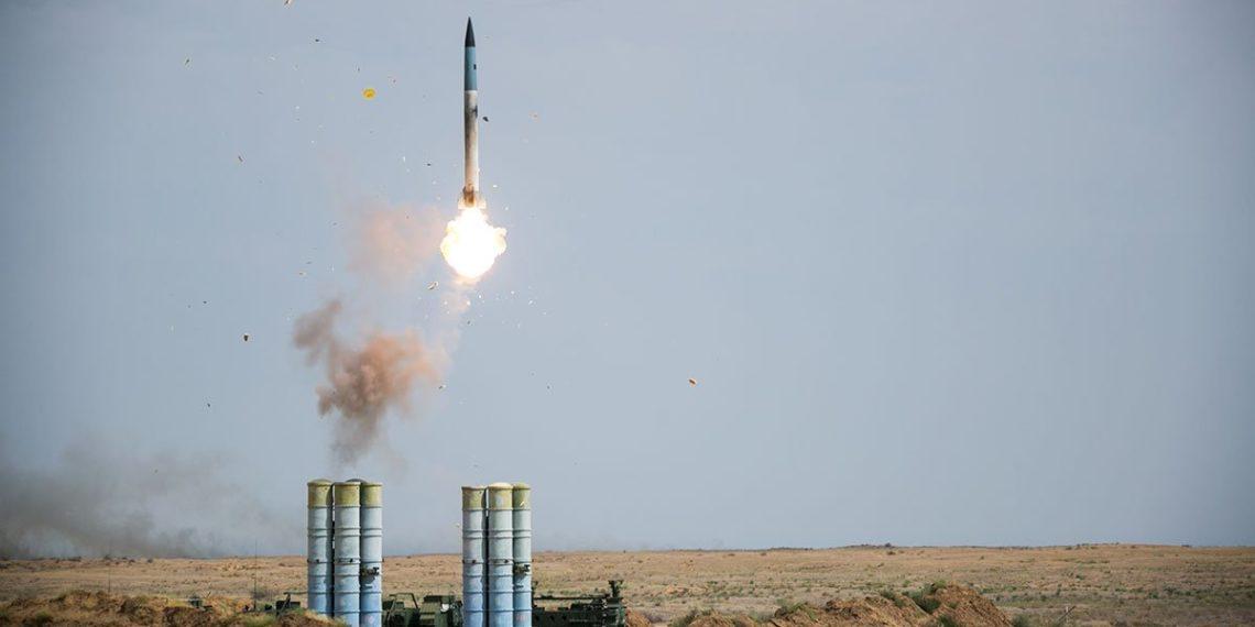 εκτόξευση πυραύλου S400