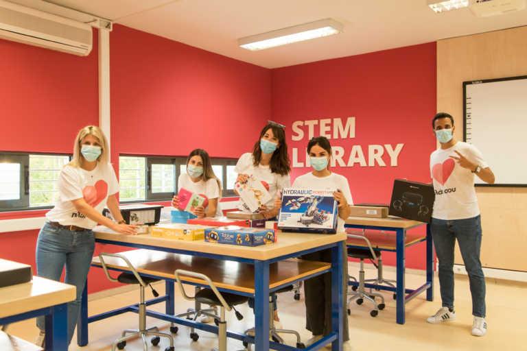 Αυτή είναι η πρώτη STEM βιβλιοθήκη σε δημόσιο σχολείο