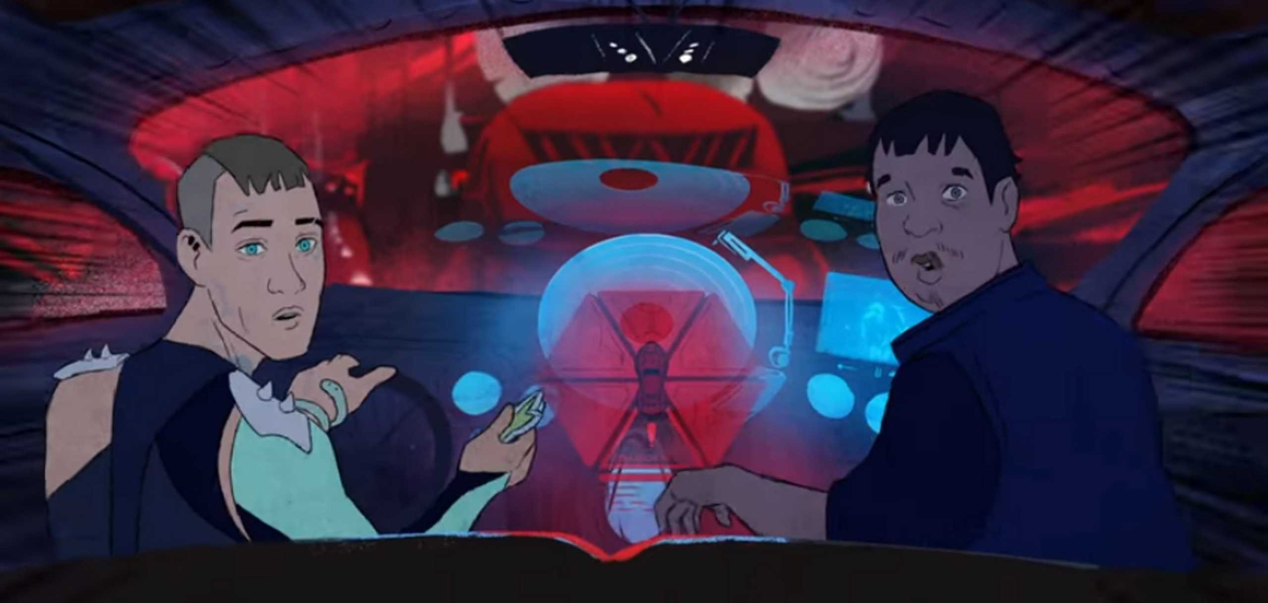 Smashing Pumpkins: Sci-fi δυστοπική σειρά animation (video)