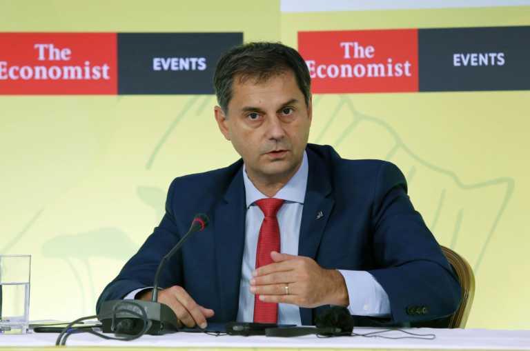 Ο Υπουργός Τουρισμού Χάρης Θεοχάρης στο 4ο Συνέδριο του Economist για τη Βιώσιμη Ανάπτυξη