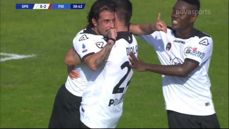 Πρώτο γκολ για Βέρντε με Σπέτσια στη Serie A (video)