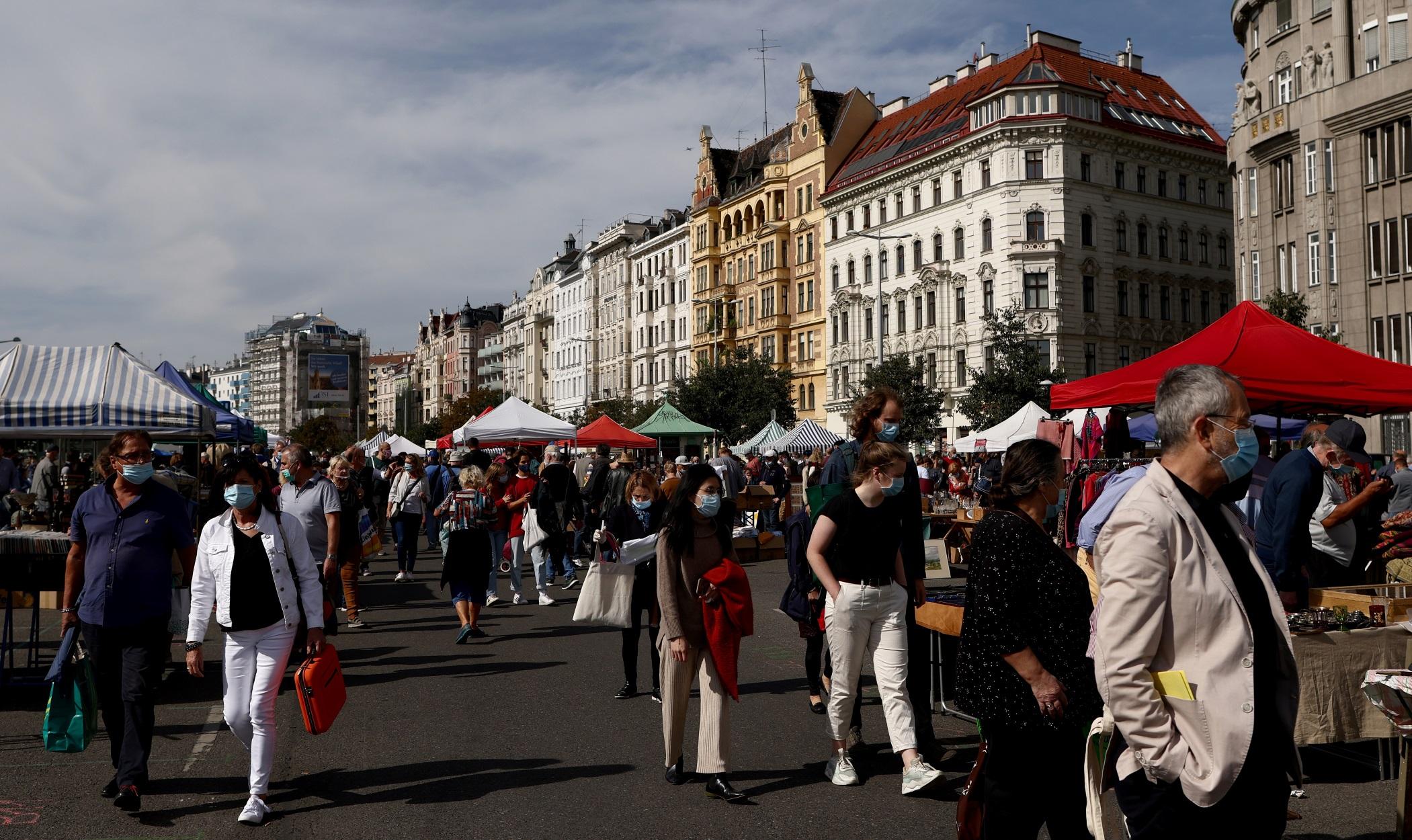 """Κορονοϊός – Αυστρία: """"Εκτίναξη"""" με 1.200 κρούσματα σε 24 ώρες"""
