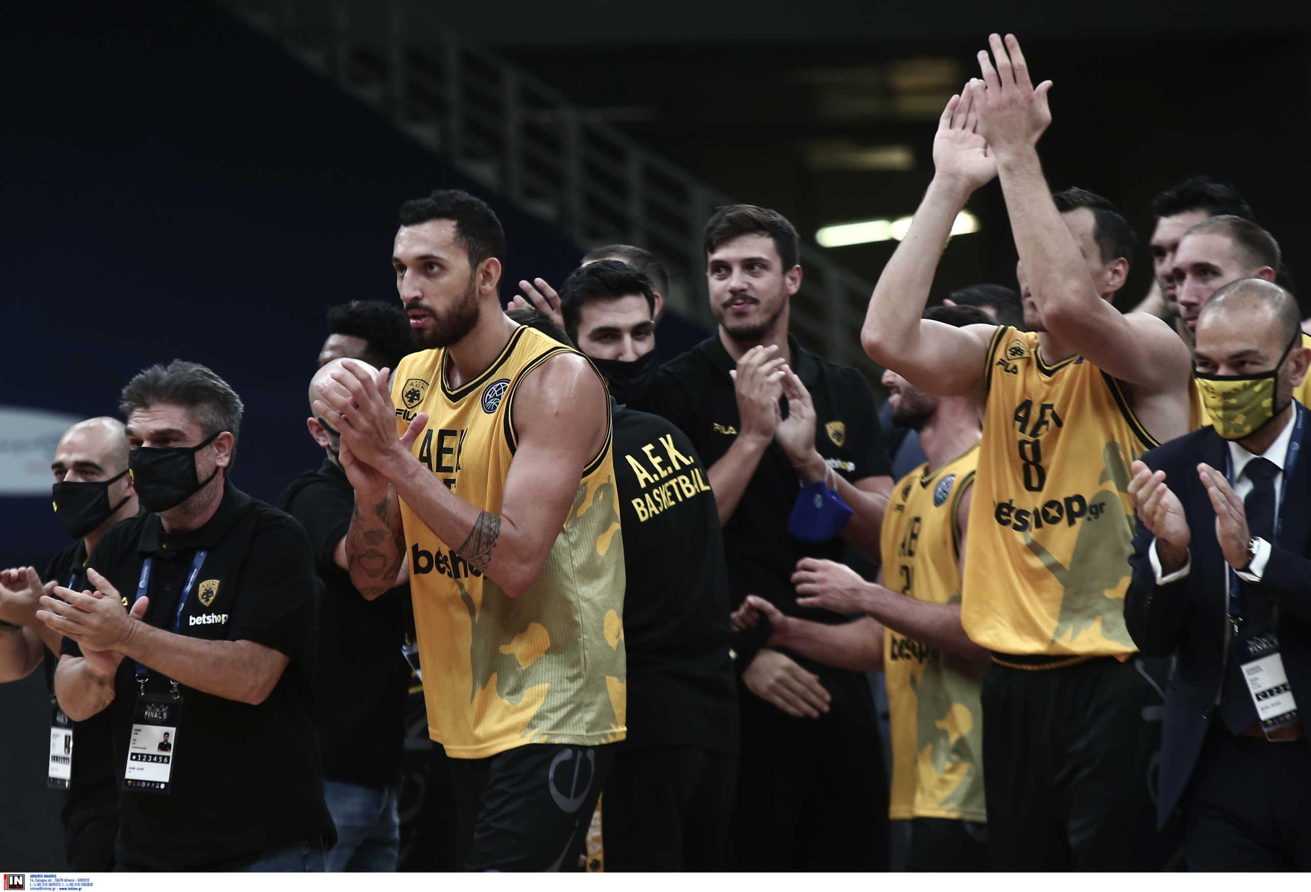 ΑΕΚ: Ανάρτηση με σύνθημα νίκης από τον ΠΣΑΚ για τον τελικό με την Μπούργος (pic)